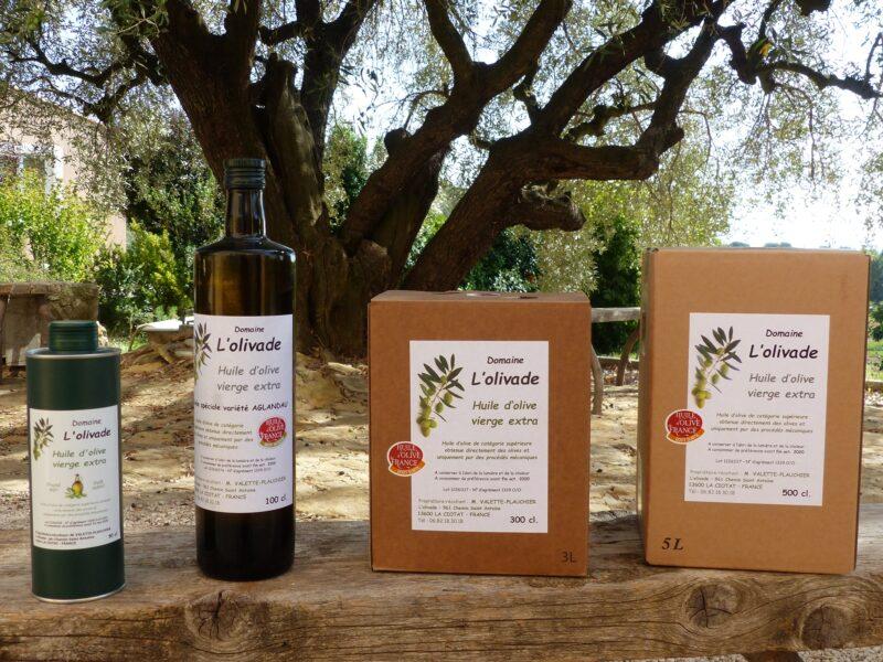 Domaine L'Olivade – Vente Directe Huile D'Olive