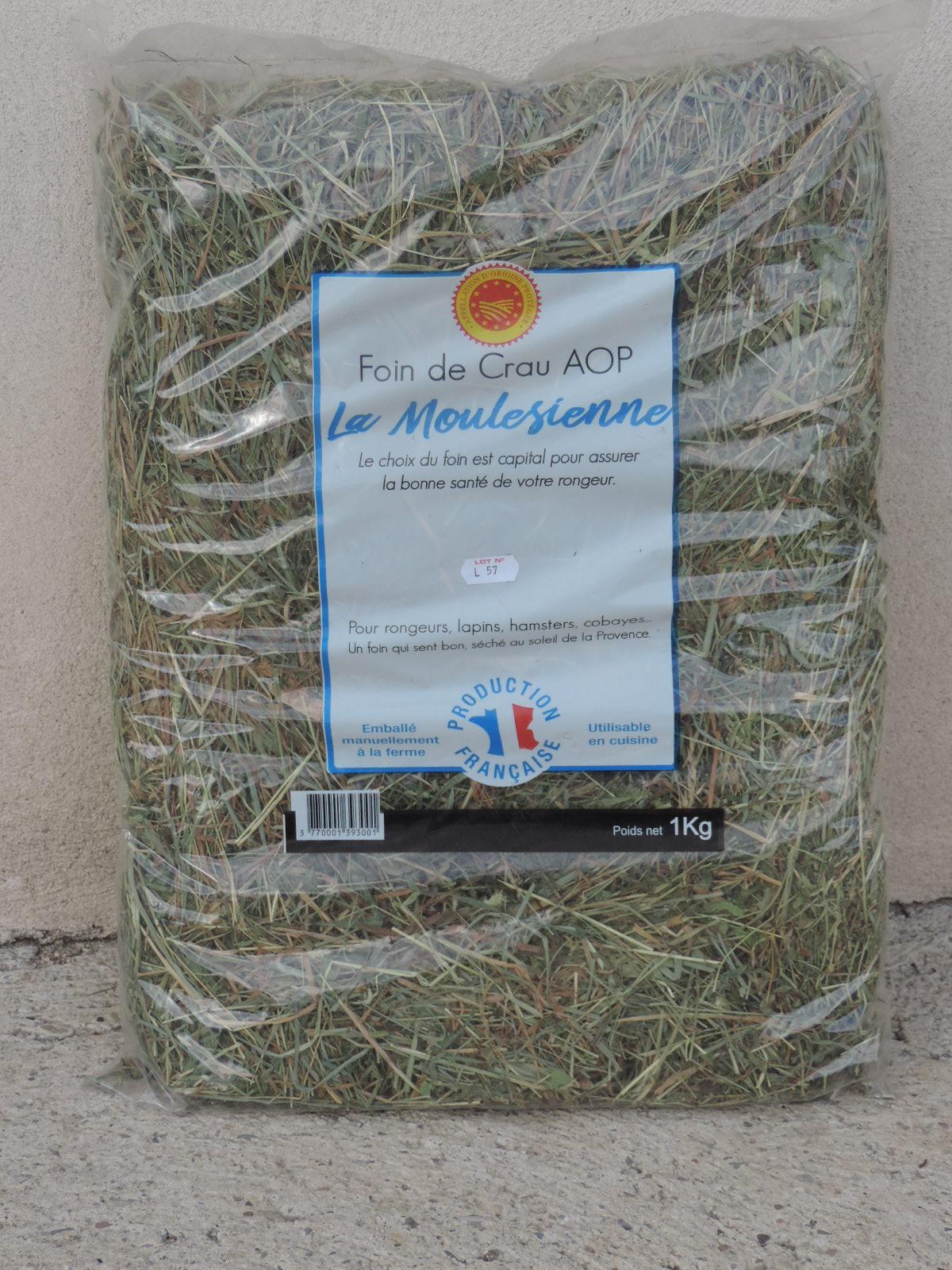 Sachets de foin de Crau AOP 1kg