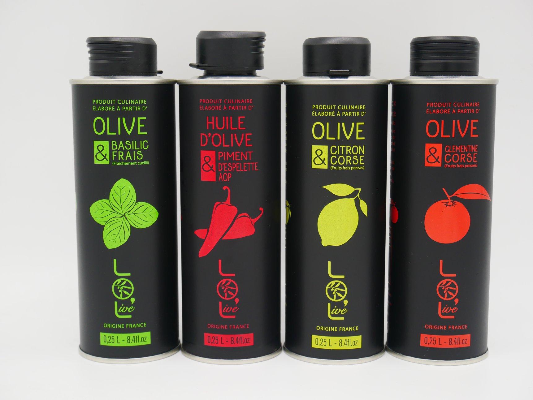 Nos huiles aromatisées