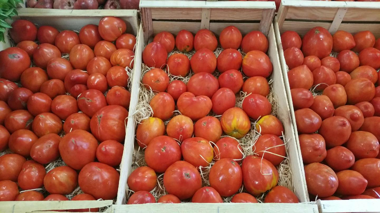 Les delicieuses, tomates anciennes !!!