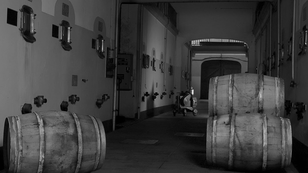 Espace de vinification