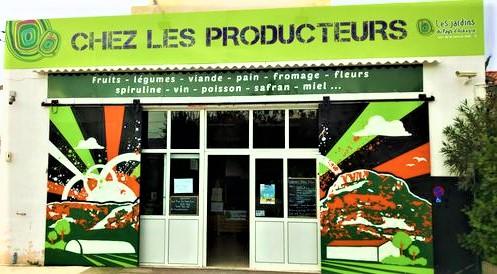 CHEZ LES PRODUCTEURS